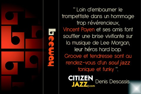 leeway & friends, vincent payen, lee morgan, citizen jazz