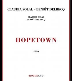 claudia solal, benoit delbecq, hopetown, jazz, jazz, piano